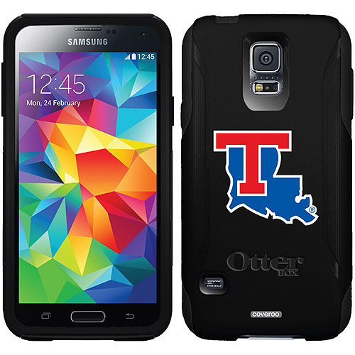 Louisiana Tech Primary Mark Design on OtterBox Commuter Series Case for Samsung Galaxy S5