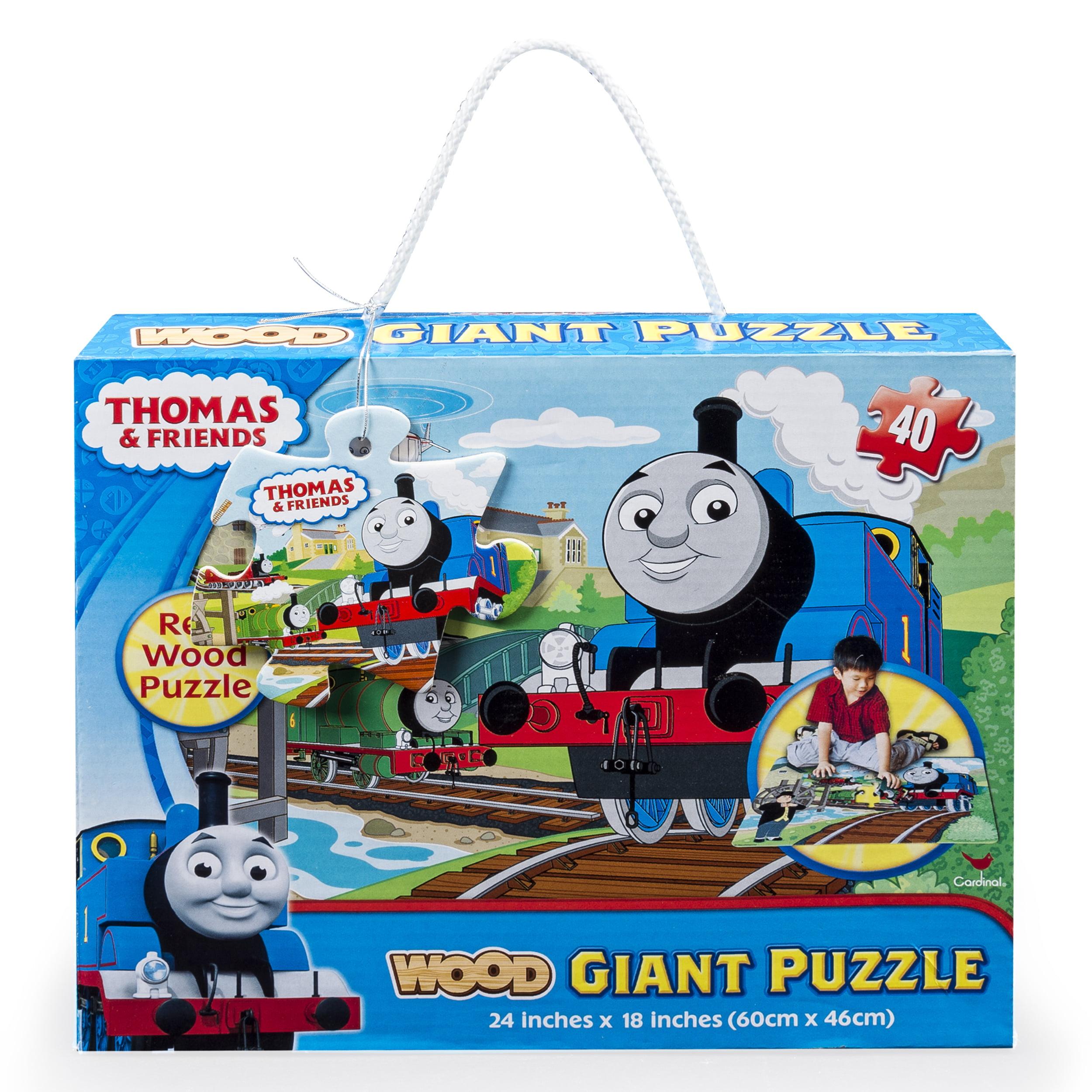 Thomas And Friends Giant 40 Piece Wood Floor Puzzle Walmartcom