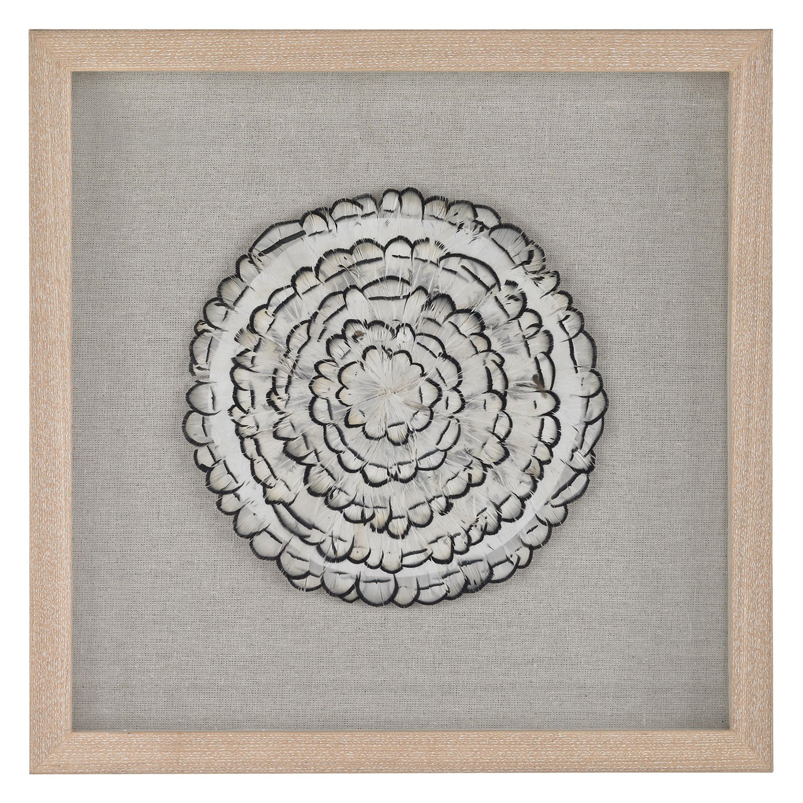 Dimond Home Feather Swirl Wall Art