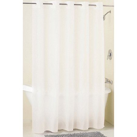 Mainstays Hookless Frosty PEVA Shower Curtain Liner 1 Each