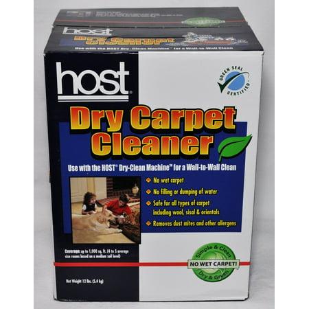- Host Dry Carpet Cleaner 12 Lb Box