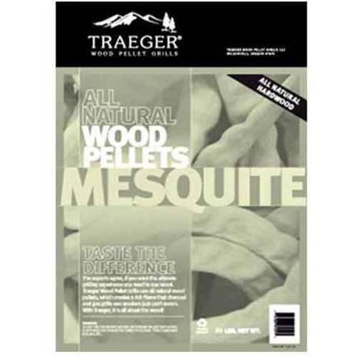 Traeger Bbq Pellets Mesquite 20 lb