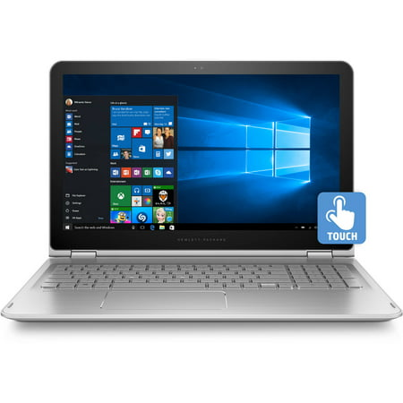 Hp Envy 15 W105wm X360 15 6  Laptop  Full Hd Ips Touch Screen  2 In 1  Laptop  Windows 10  Intel Core I7 6500U Processor  8Gb Memory  1Tb Hard Drive  Natural Silver