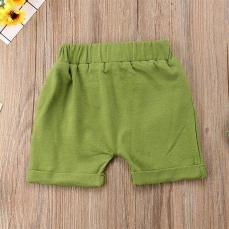 Toddler Infant Kids Baby Boy Girl Casual Shorts Pants  Harem Jogger Trouser - image 4 de 5