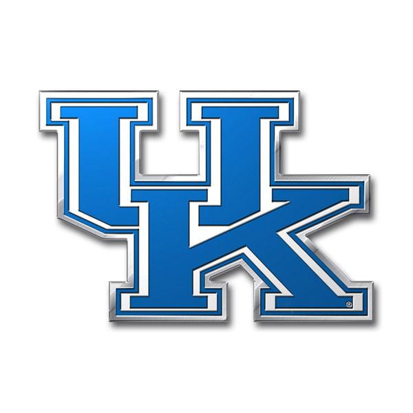 Kentucky Wildcats Aluminum Auto Emblem Decal Sticker