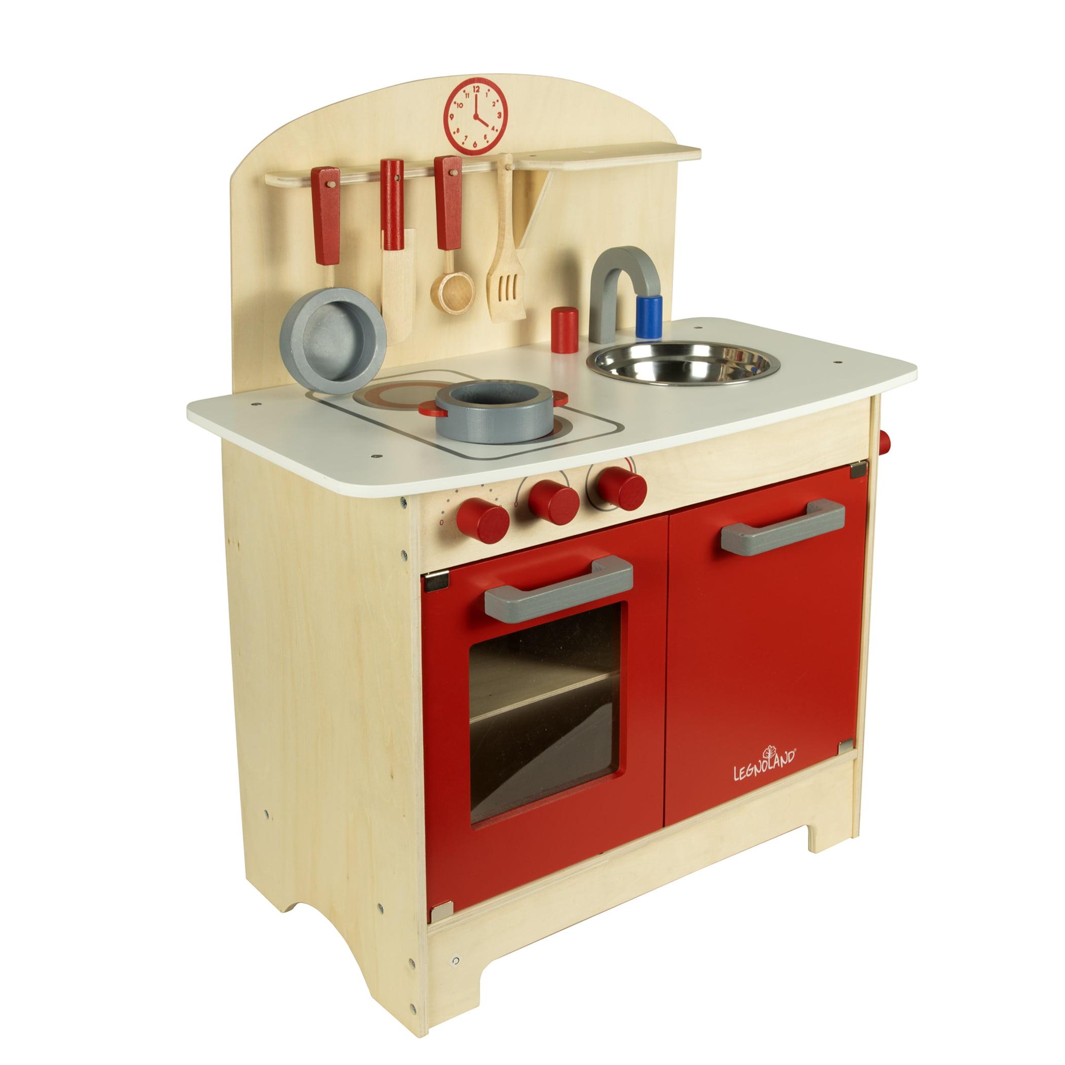 Wooden Kitchen Set - Walmart.com
