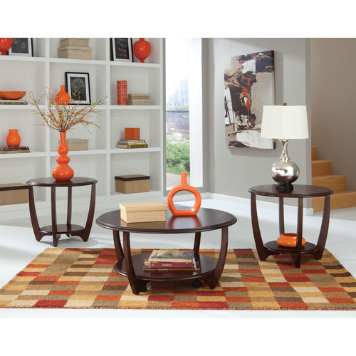 Standard Furniture Seattle II 3 Piece Coffee Table Set
