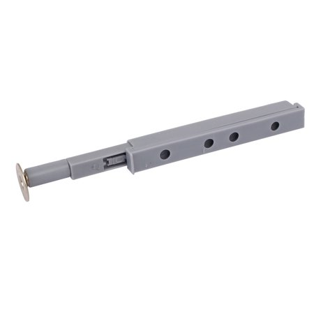 Cabinet Drawer Door Push Open System Plastic Damper Buffer Gray w Magnetic Tip - image 2 de 4
