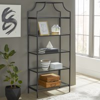 "Better Homes & Gardens 71"" Nola 5 Tier Etagere Bookcase, Multiple Finishes"