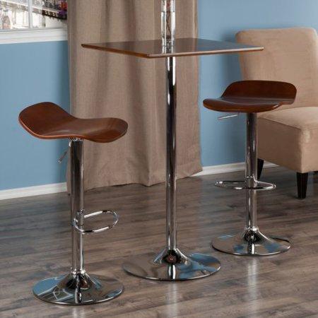 kallie 3 pc set pub table bar height stools