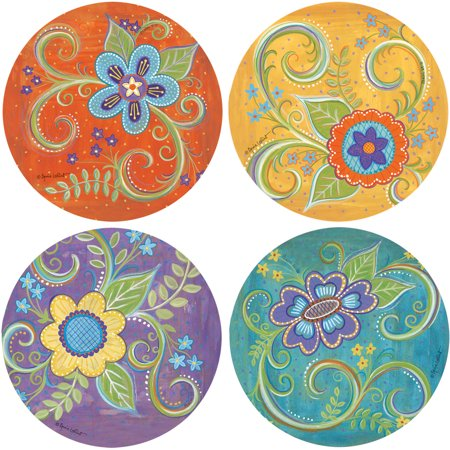 Thirstystone Drink Coasters Series, Gypsy Blossoms by
