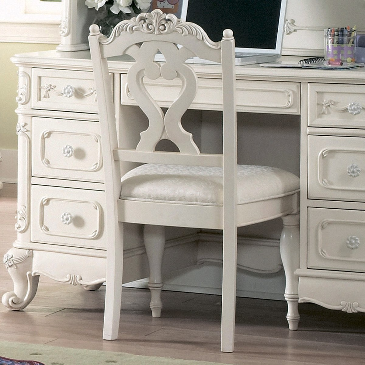 Homelegance Cinderella Writing Desk Chair by Homelegance LA, Inc