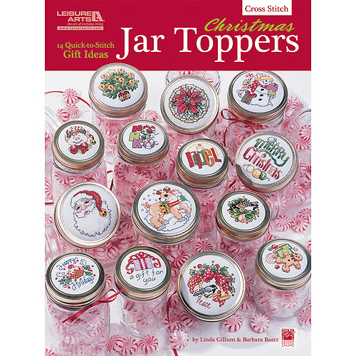 Leisure Arts Christmas Jar Toppers