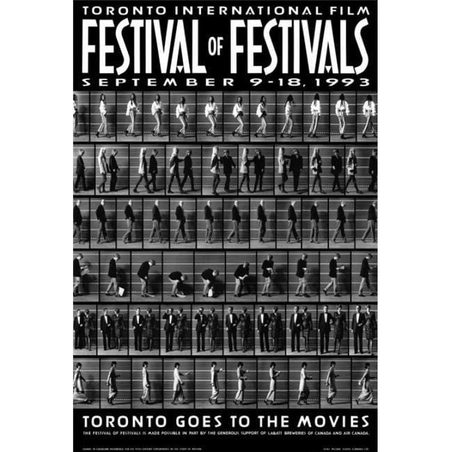 Posterazzi MOVIG5313 Toronto International Film Festival Movie Poster - 27 x 40 in. - image 1 de 1