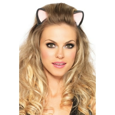 Leg Avenue Women's Kitty Headband Costume Accessory, Black, One Size](Kitty Headband)