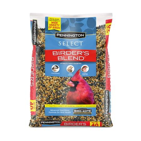 Pennington Select Birder's Blend Wild Bird Seed, 40 (Types Of Bird Seed For Wild Birds)
