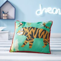 Tiger Decorative Throw Pillow for Kids by Your Zone