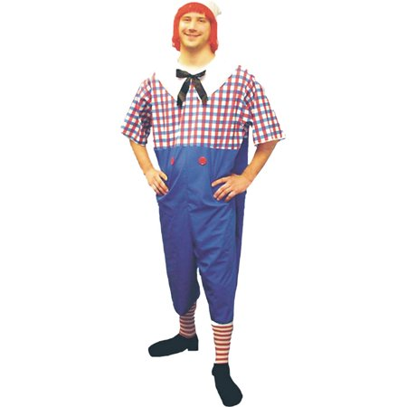 Morris Costumes Mens Raggedy Andy Plus Size Halloween Adult Costume, Style, - Andy Costumes