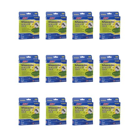 Pic C412 Mosquito Repellent Coils (12 Packs Of 4) (Pic Mosquito Repellent Coils)