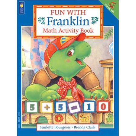 Fun with Franklin: Math Activity Book - Math Activities For Halloween