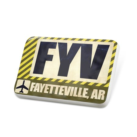 Porcelein Pin Airportcode FYV Fayetteville, AR Lapel Badge – NEONBLOND - Home Depot Fayetteville Ar
