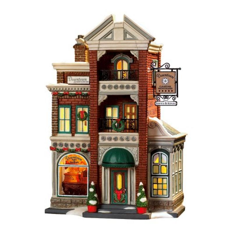 Dept 56 - Christmas In The City - Downtown Radios & Phono...