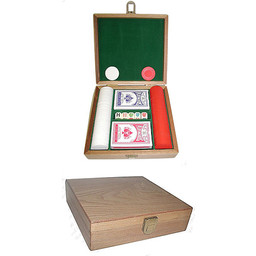 Trademark Poker Poker Chip Gift Set, 100 Chips Plus More!