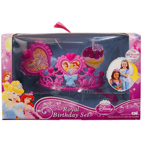 Disney Princess Royal Birthday Set by Jakks Pacific