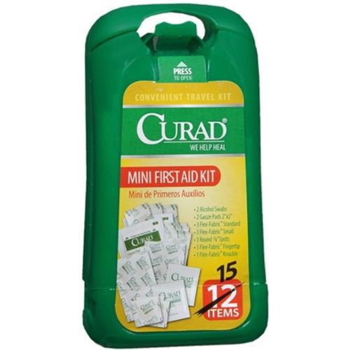Curad Mini De Primeros Auxilios First Aid Travel Kit - 15 Pieces