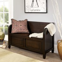 Simpli Home Connaught Entryway Storage Bench