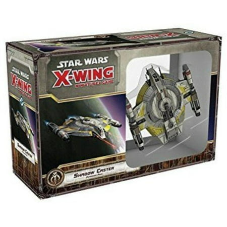 Star Wars X-Wing: Shadow Caster Expansion Pack, A large-base scum and villainy Starship expansion for the best-selling X-Wing miniatures game By Fantasy Flight