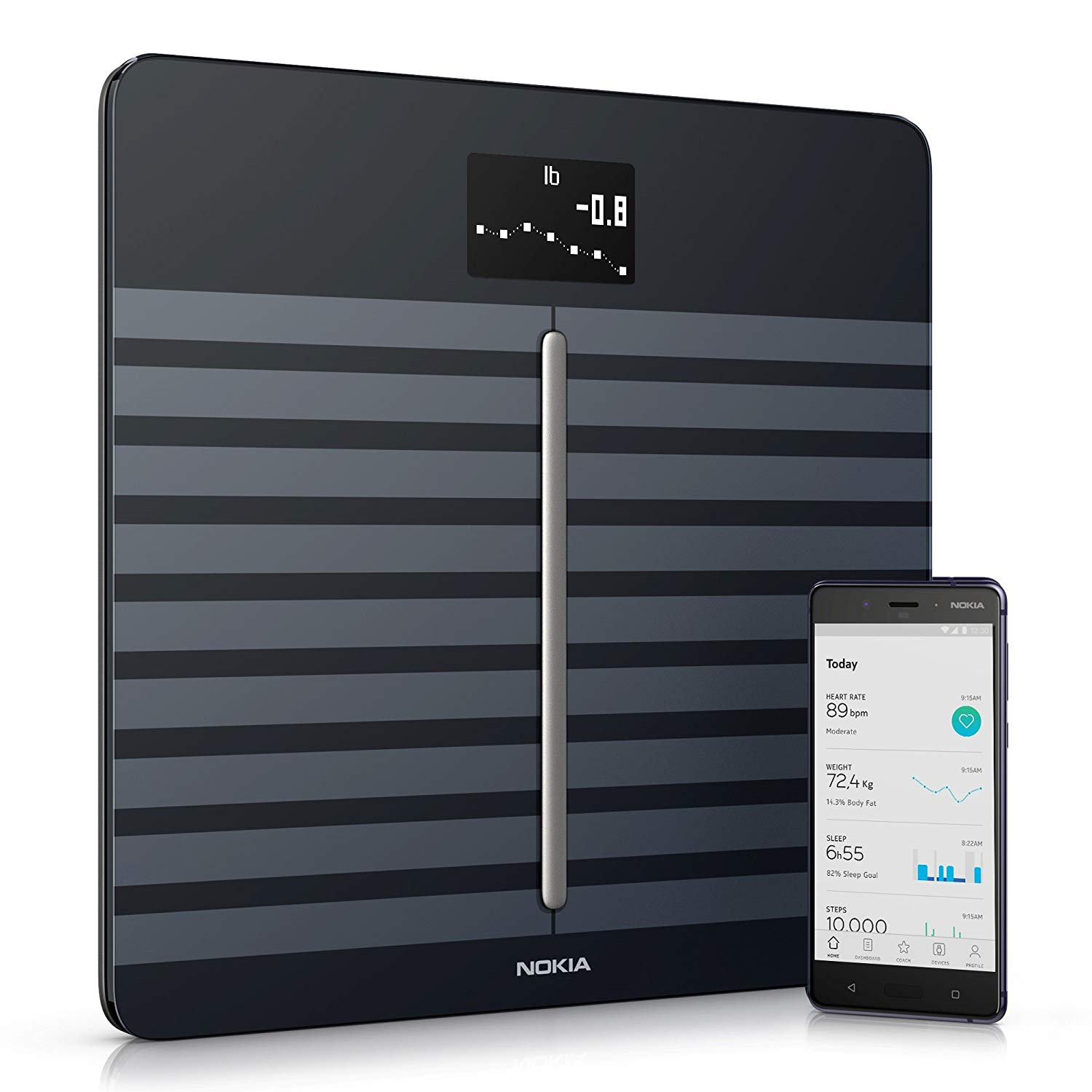 Nokia Body Cardio Wi-Fi Smart Scale with Body Composition and Heart Rate