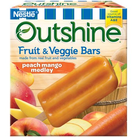 Outshine Fruit and Veggie Bars are the perfect after school snack - full of good for your body vitamins and so delicious the kids won't know a thing!