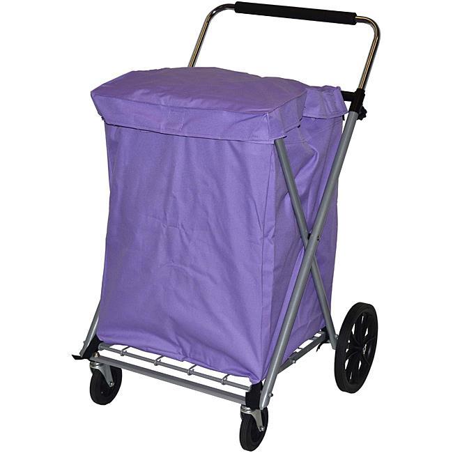 Narita Trading 015LL Canvas Cart  Lilac