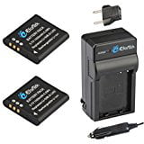 EforTek Li_50B Replacement Battery (2_Pack) and Charger K...