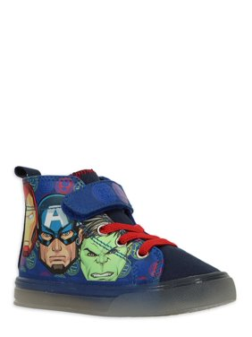 The Avengers Light Up High Top Sneakers (Toddler Boys)