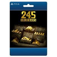 Red Dead Online: 245 Gold Bars, Rockstar, Playstation, [Digital Download]