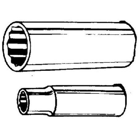 Channellock Products 1/2 Drive 1-1/16 12-Point Deep Standard Socket