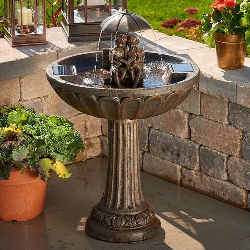 Smart Solar Umbrella Solar Fountain