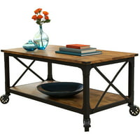 Deals on Better Homes and Gardens Rustic Country Coffee Table