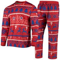 Philadelphia Phillies Wordmark Pajama Set - Red