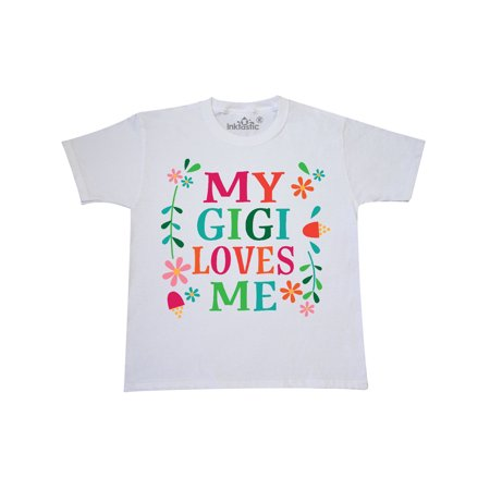 My Gigi Me Girls Gift Apparel Youth T-Shirt From Grandchild Cute