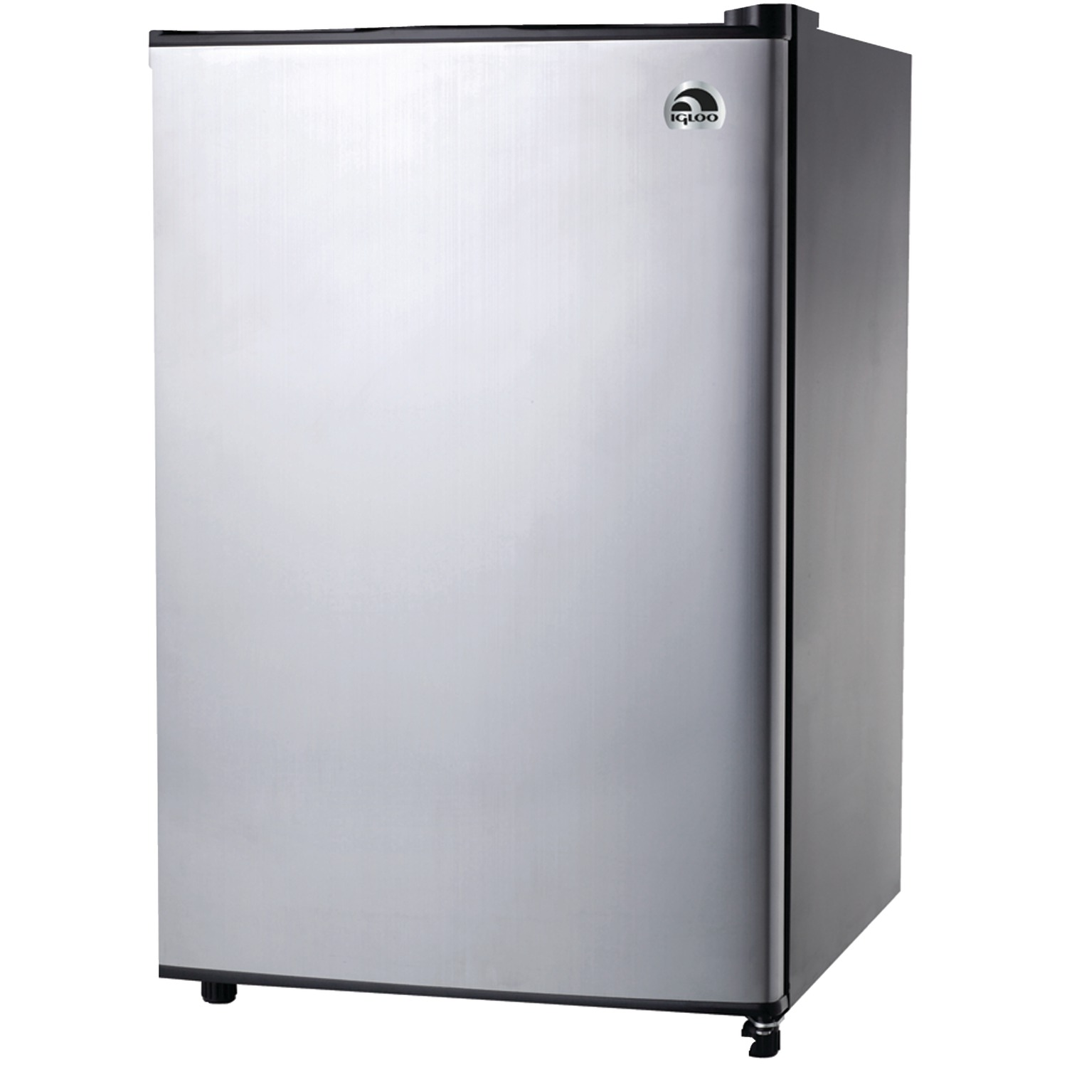 Igloo 3.2 Cubic-ft Refrigerator With Platinum Finish