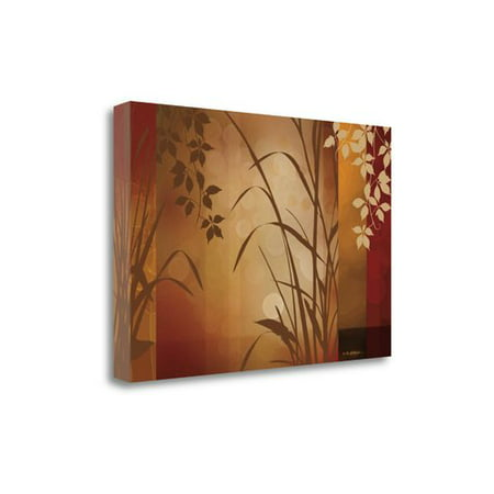 Tangletown Fine Art 'Flaxen Silhouette' Graphic Art Print on Wrapped Canvas