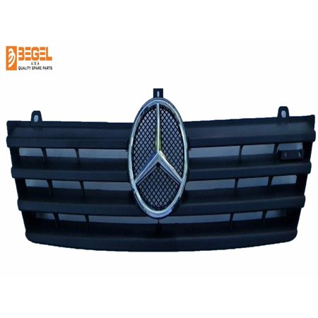 Mercedes Benz Grille Shell (95-06 MERCEDES CDI SPRINTER FRONT GRILLE W/Chrome StarGrill A9018800085)