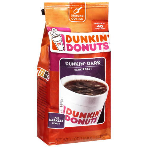 Dunkin' Donuts Dunkin' Dark Roast Ground Coffee, 12 oz