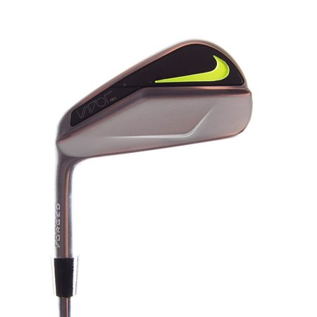 New Nike Vapor Pro Forged Blade 4-Iron Black Gold Stiff Steel LEFT HANDED