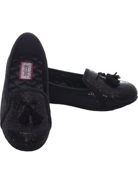 9ce4481e675b Product Image Black Sparkle Tassel Loafer Shoes Girls 11-4. L Amour