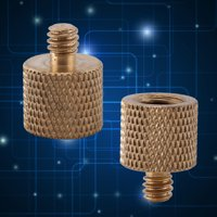 3/8  Female to 1/4' Male Brass Tripod Adapter Screw For Camera Light Stand ,Brass Tripod Thread, Tripod Screw Adapters
