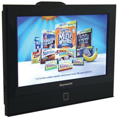 13.3 inch Skyworth SLC-1369A AC/DC 12 Volt HDTV LCD with DVD Player and Digital ATSC Tuner Multi-Colored